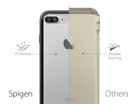 Etui Spigen Ultra Hybrid iPhone 7 Plus Mint + Szkło