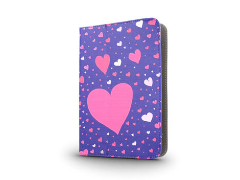 Etui Uniwersalne Tablet 7-8'' Hearts