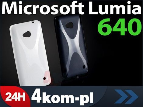 Etui X-SHAPE do Microsoft Lumia 640 WIELOKOLOR