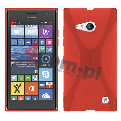 Etui X-SHAPE do Nokia Lumia 730/735
