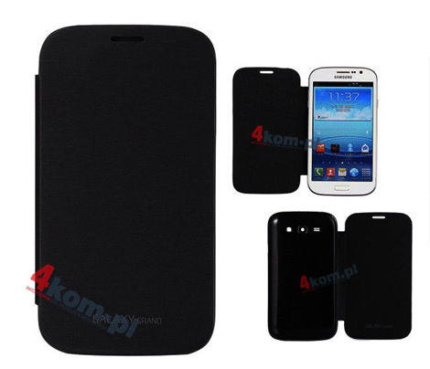 Etui flip cover czarny do Samsung Galaxy Grand Neo