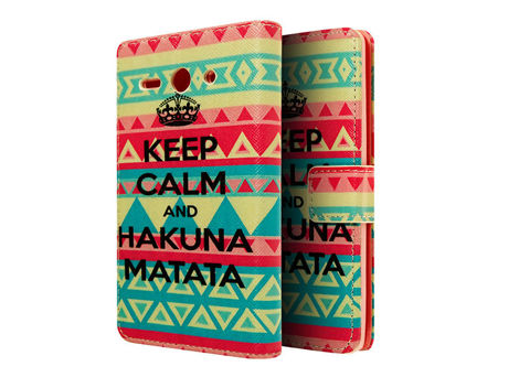 Etui ochronne dla Huawei Ascend Y530 Keep Calm and Hakuna Matata
