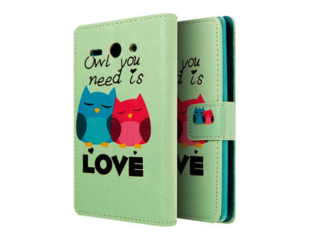 Etui ochronne dla Huawei Ascend Y530 Owl you Need is Love