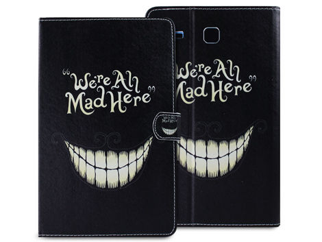 Etui ochronne dla Samsung Galaxy Tab E 9.6 We're All Mad Here