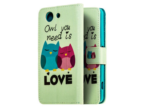 Etui ochronne dla Sony Xperia Z3 Compact Owl you Need is Love