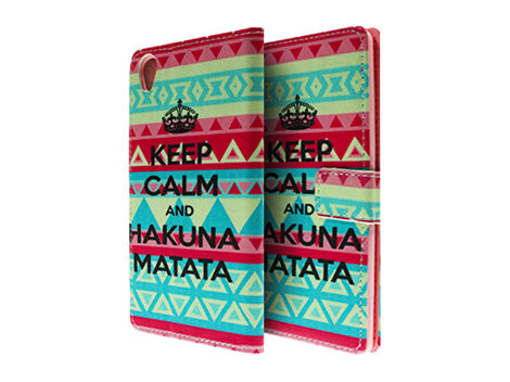 Etui ochronne dla Sony Xperia Z3 Keep Calm and Hakuna Matata