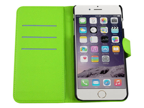 Etui portfel zielony do iPhone 6 Plus (5,5')