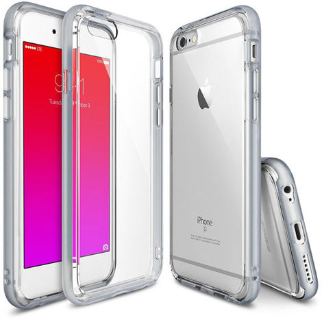 Etui ringke fusion frame iphone 6 / 6s frost gray