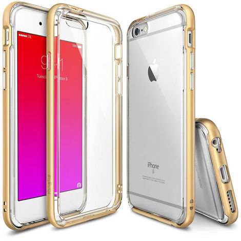 Etui ringke fusion frame iphone 6 / 6s royal gold