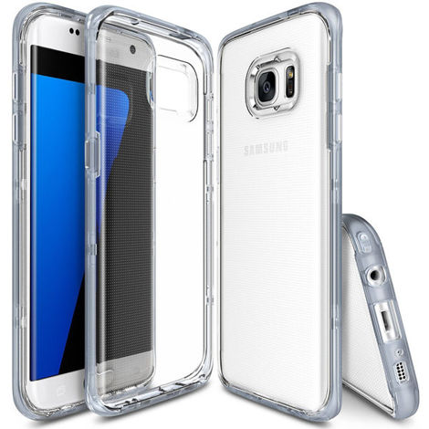 Etui ringke fusion frame samsung galaxy s7 edge frost gray