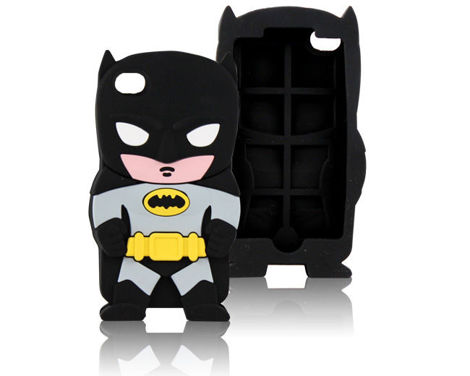 Etui silikonowe 3D Batman iPhone 4 4S