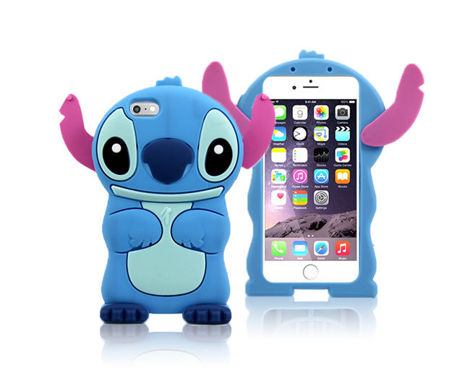 Etui silikonowe 3D Stitch iPhone 6
