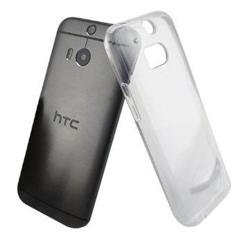 Etui silikonowe crystal 0.3mm guma do HTC One M8s