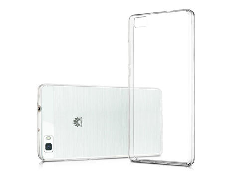 Etui silikonowe crystal 0.3mm guma do Huawei P8 Lite