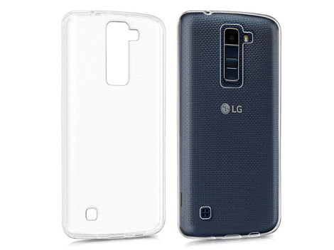 Etui silikonowe crystal 0.3mm guma do LG K8