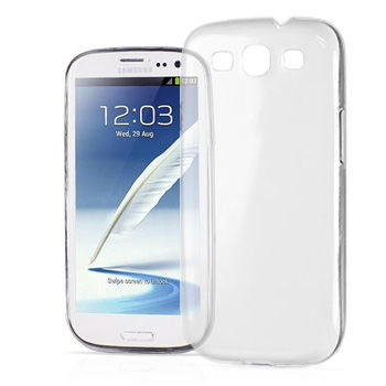 Etui silikonowe crystal 0.3mm guma do Samsung GALAXY S3