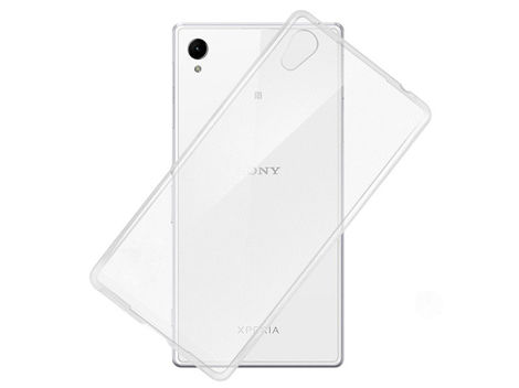 Etui silikonowe crystal 0.3mm guma do Sony Xperia Z5 Compact
