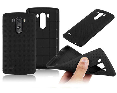 Etui silikonowe do LG G3 mini S beat czarne