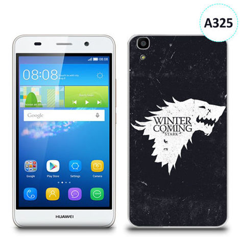 Etui silikonowe z nadrukiem Huawei Y6 - gra o tron winter is coming
