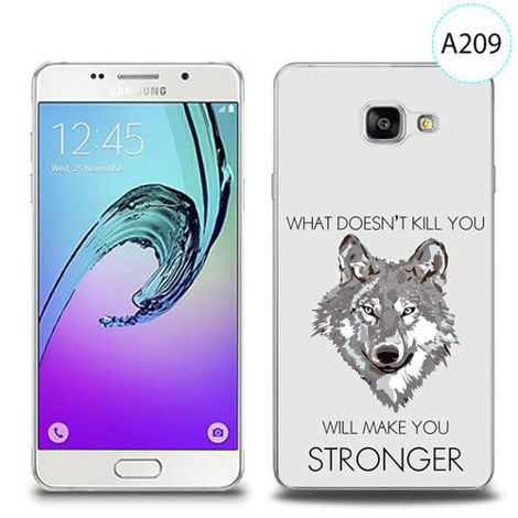 Etui silikonowe z nadrukiem Samsung Galaxy A5 2016 - will make you stronger