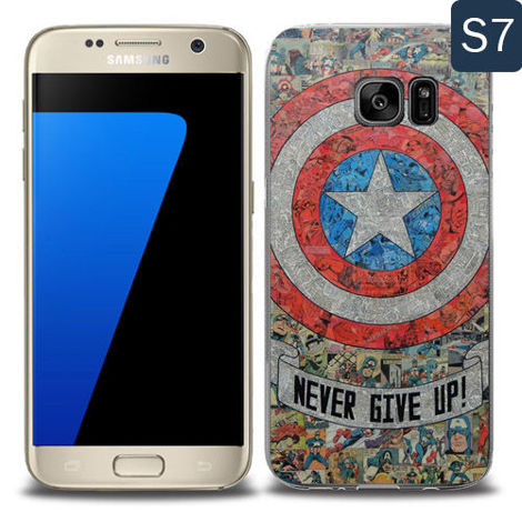 Etui silikonowe z nadrukiem Samsung Galaxy S7- avengers never give up