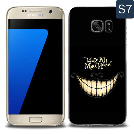 Etui silikonowe z nadrukiem Samsung Galaxy S7- were all mad here