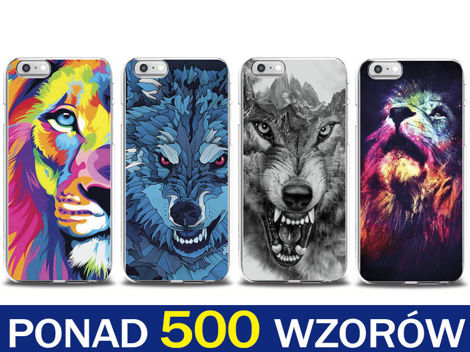 Etui silikonowe z nadrukiem do Apple iPhone 6/6s