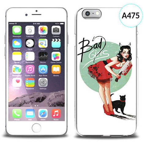 Etui silikonowe z nadrukiem iPhone 6 - bad girls