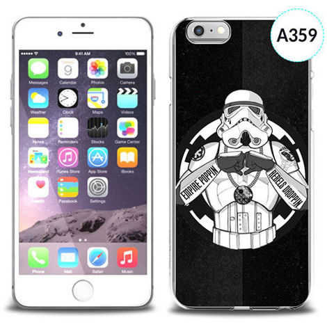 Etui silikonowe z nadrukiem iPhone 6 - trooper star wars