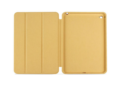 Etui smart case ipad mini 4 złote + szkło