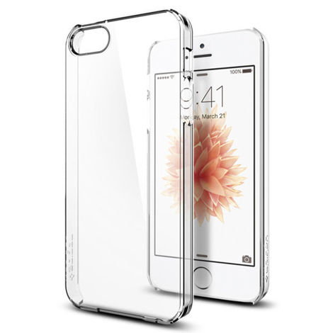 Etui spigen thin fit iphone 5 / 5s / se crystal clear