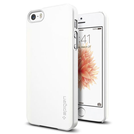 Etui spigen thin fit iphone 5 / 5s / se shimmery white
