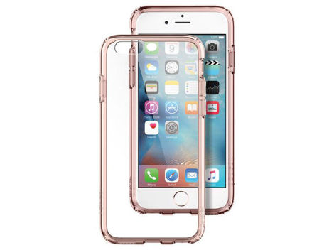 Etui spigen ultra hybrid iPhone 6 / 6s Rose Crystal + szkło