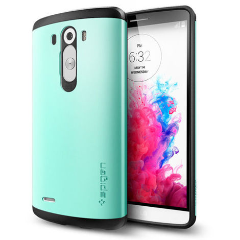 SPIGEN etui Slim Armor Mint do LG G3