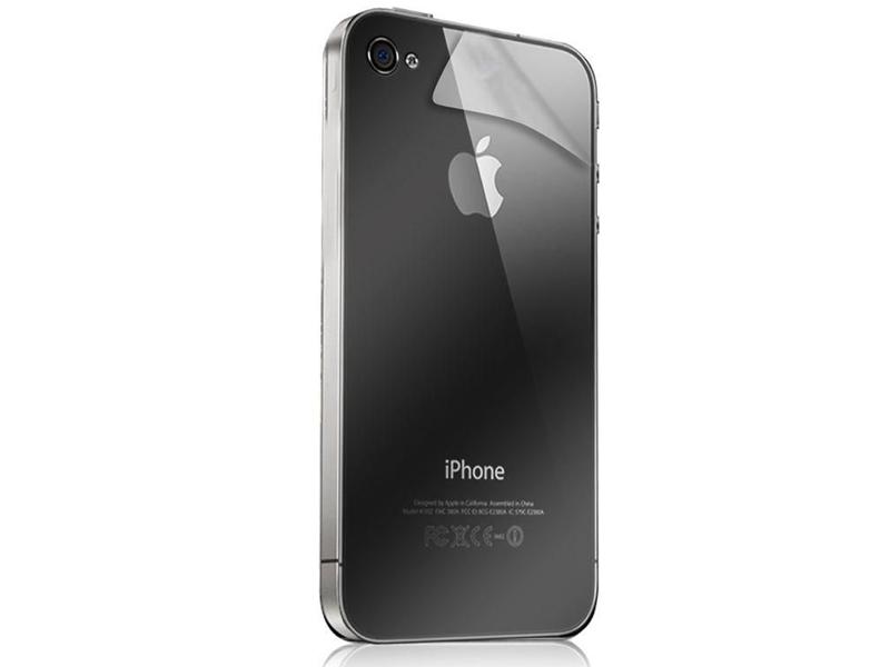 Folia ochronna na plecki do iPhone 4   4s + ściereczka - 4kom.pl 8c665fbfc7a