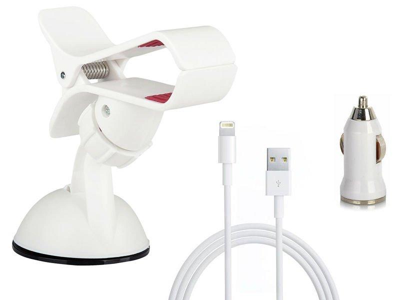 zestaw podróżnych akcesoriów dla urządzeń apple