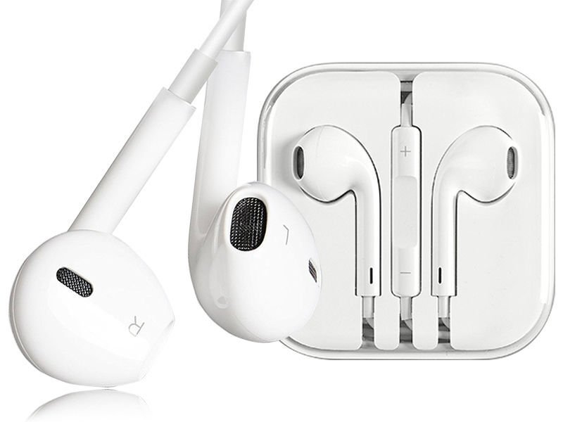 Słuchawki douszne zamienniki Apple EarPods