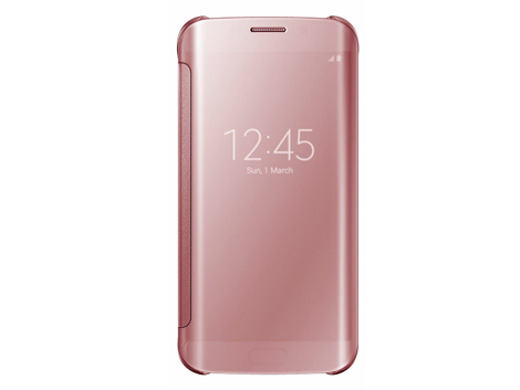 ETUI CLEAR VIEW COVER SAMSUNG GALAXY A3 2016 RÓŻOWE