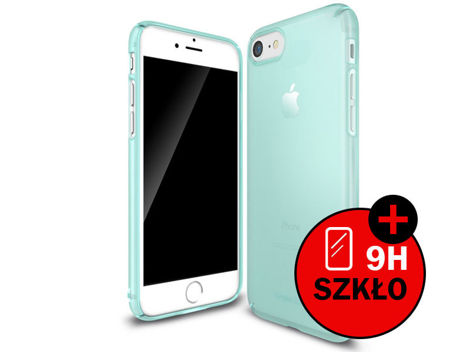 Etui Ringke Slim Apple iPhone 7 Frost Mint + Szkło