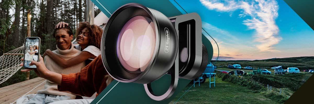 Apexel APL-HD5T Obiektyw Teleobiektyw do telefonu