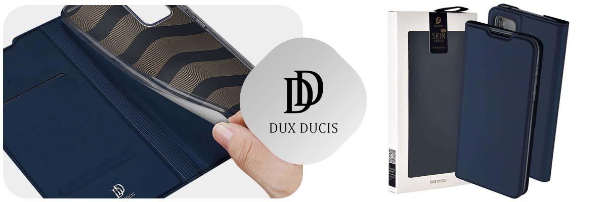 Etui ochronne Dux Ducis Skin do Samsung Galaxy A52 5G Granatowe