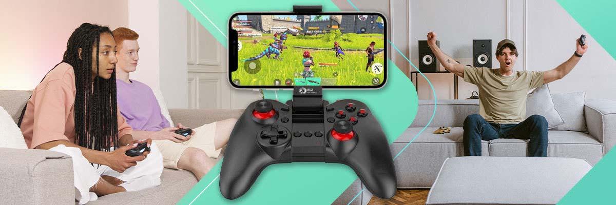 Bezprzewodowy kontroler Gamepad pad do gier Bluetooth X5 Plus