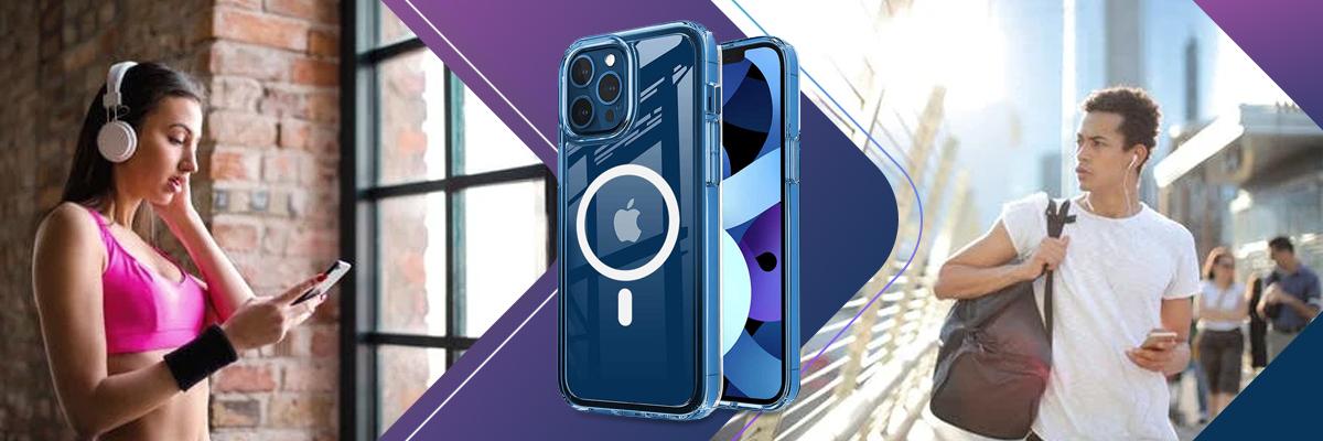 Etui pancerne Ultra Slim Alogy do ładowarek Qi do iPhone 12/ Pro Przezroczyste + Ładowarka Qi
