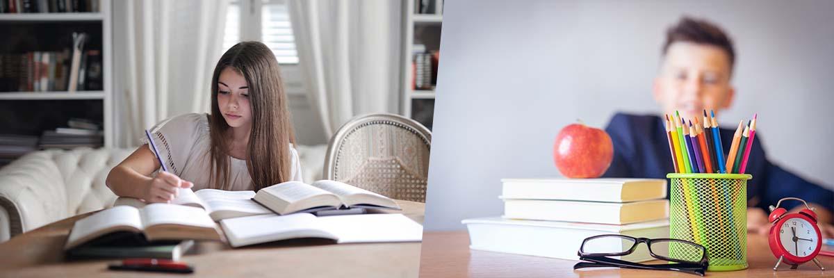 Nauczanie zdalne uczenie się w domu edukacja zdalna