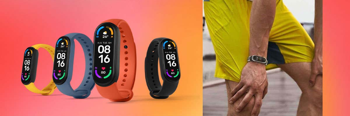 pasek do smartwatcha Xiaomi Mi Band 6