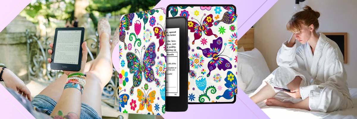 Etui Alogy Smart Case do Kindle Paperwhite 1/2/3 Motyle