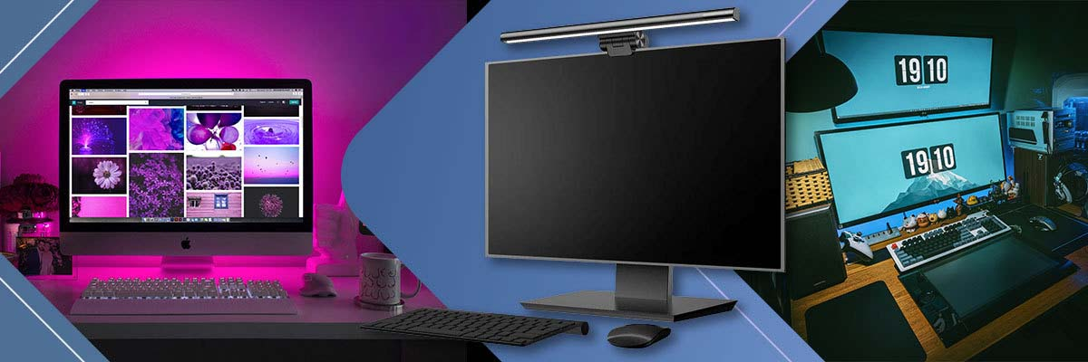 Baseus Lampa LED I-Wok na monitor do komputera USB 5W Czarna