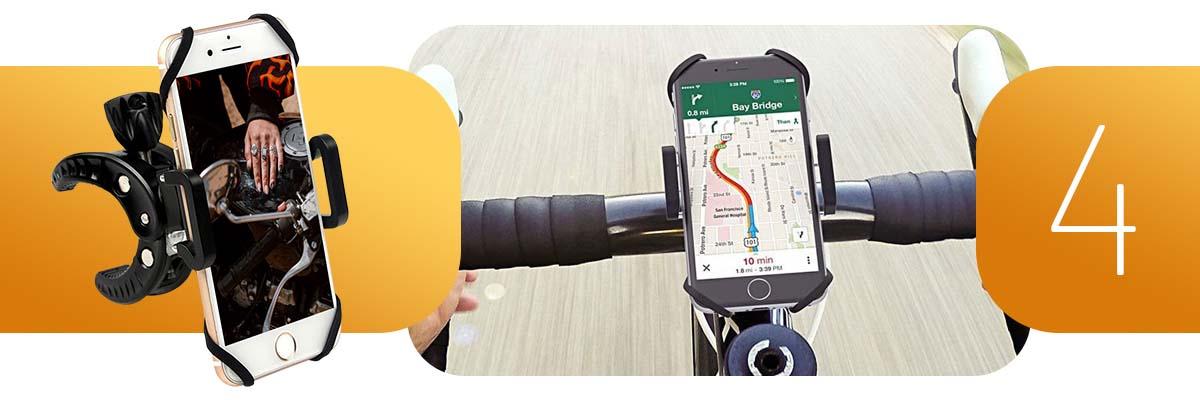 Uniwersalny uchwyt rowerowy motocyklowy Action Claw