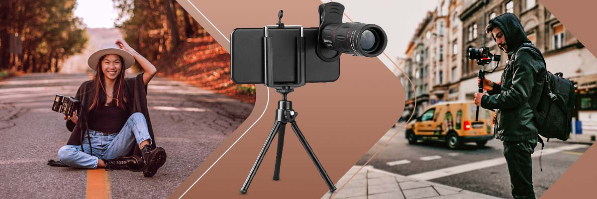 Apexel APL-T18ZJ Teleskopowy Obiektyw