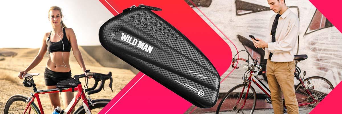 Etui torba sakwa na rower uchwyt rowerowy Wildman Bag ES6 1l